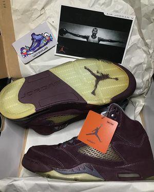 "Jordan Retro 5 ""Burgundy "" for Sale in Los Angeles, CA"