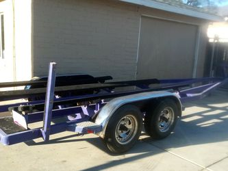 21' BOAT TRAILER(CURRENT ARIZONA REGISTRATION ..ARIZONA PINK SLIP ON HAND)$1600 💥FIRM💥 for Sale in Sylmar,  CA