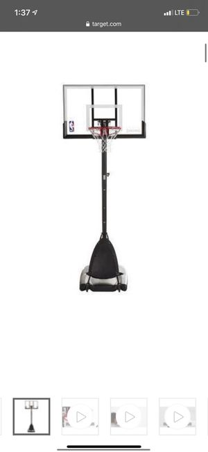 Basketball hoop brand new already build for Sale in Chicago, IL