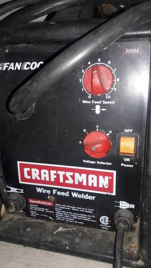 Craftsman welder fan cooled wire feed for Sale in Stockton, CA