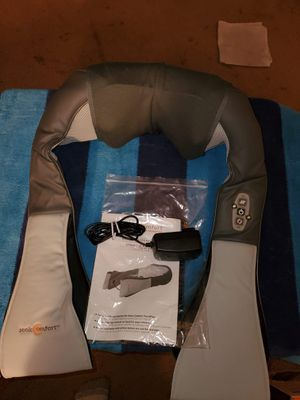 new Sonic Comfort Luxe Back and Body Massager with Light Heat Therapy for Sale in Shawnee, KS