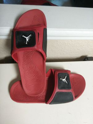 Jordan slides size 15 mens $35 for Sale in Winter Haven, FL