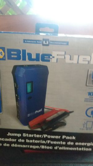 Blue fuel jump starter power pack for Sale in Portland, OR