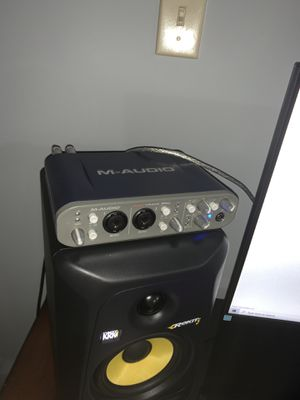 M audio fast track pro for Sale in Acworth, GA