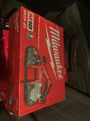 Milwaukee cordless band saw for Sale in Silver Spring, MD