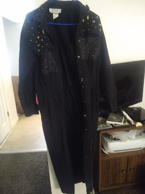 Gold embellished trench coat/duster for Sale in Price, UT