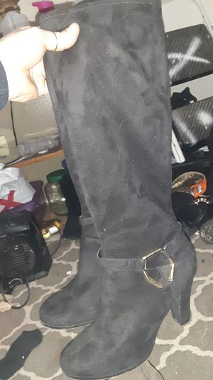 Velvet boots for Sale in Bakersfield, CA