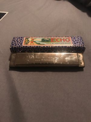 """Vintage M. Hohner """"The Echo"""" Harmonica for Sale in Fontana, CA"""