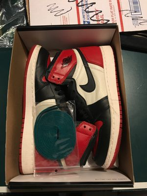 """Air Jordan 1 """"Bred Toe"""" size 7y for Sale in Downers Grove, IL"""