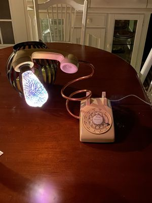Custom Vintage Telephone Lamp for Sale in Suwanee, GA
