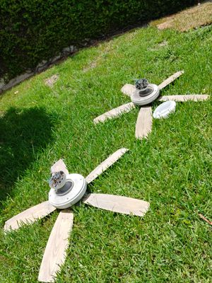 FREE CEILING FANS (2) - outdoor/ patio fans for Sale in Miami, FL