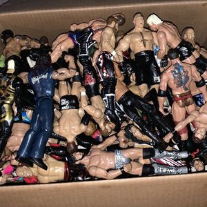 Box Of WWE Wrestlers for Sale in Dover, PA