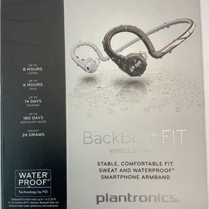 Bluetooth Wireless Music Headphones Fitness Backbeat Fit by Plantronics for Sale in Garrison, MD