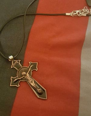 Men's fashion cross necklace for Sale in Moreno Valley, CA
