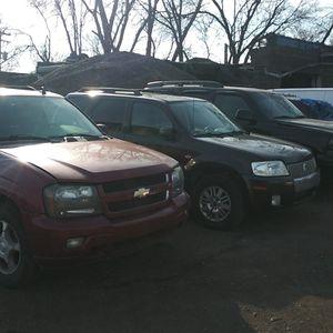 Mercury mariner chevy trailblazer parts for Sale in Detroit, MI