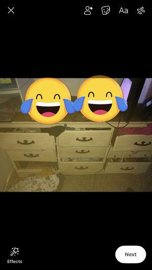 Old antique 9 drawer dresser for Sale in Fresno, CA