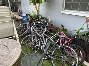 12 really nice bikes some of them need a little bit of tinkering. Maybe a new chain brakes adjusted gears adjusted enter tuber tire for Sale in Palm Harbor, FL