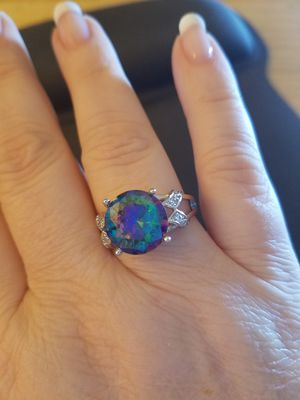 Size 10,11&12 Sterling Silver Mystic Topaz Ring for Sale in Knoxville, TN