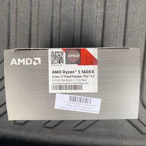 AMD Ryzen 5 5600X 6 Core, 12 Thread GPU for Sale in Clifton, NJ