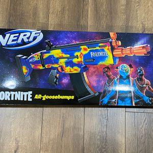 Travis Scott NERF Fortnite AR Goosebumps Gun Cactus Jack for Sale in Los Angeles, CA