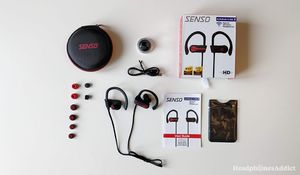 Senso Bluetooth Headphones ActivBuds S-255 Review for Sale in Raleigh, NC