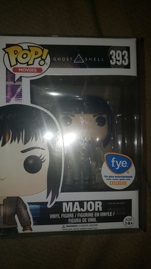 Funko Pop! Major (FYE Ex) for Sale in Rancho Cucamonga, CA