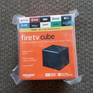 Amazon Fire TV Cube for Sale in Puyallup, WA