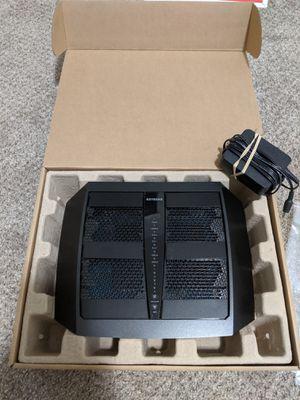 Netgear Nighthawk X6, AC3200 Tri-Band WiFi Router, Model R8000 for Sale in Columbus, OH