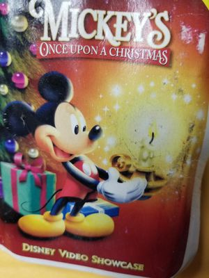 Walt Disney Mickey's once upon a Christmas figurine for Sale in Glen Burnie, MD