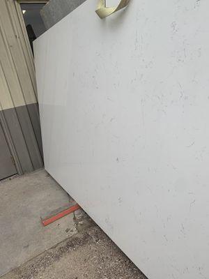 Carrera white quartz 3cm $39.99 square feet installation and fabrication includes for Sale in Houston, TX