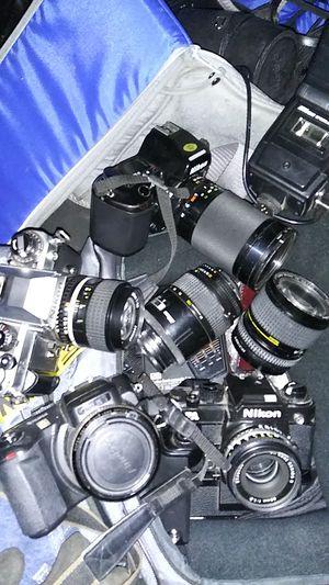 Nikkon camera and lenses. for Sale in Tacoma, WA