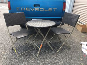 Patio table and chairs for Sale in Virginia Beach, VA