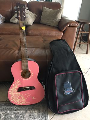 First Act 3/4 size guitar and padded bag for Sale in NEW PRT RCHY, FL