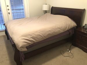 Ashley Furniture bed frame and Sealy Mattress for Sale in Little Rock, AR