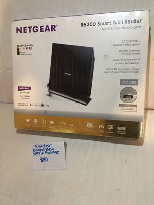 Netgear R6200 smart WiFi router for Sale in Pontotoc, MS