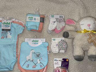 Baby Girl Newborn Set + Diapers for Sale in Ontario,  CA