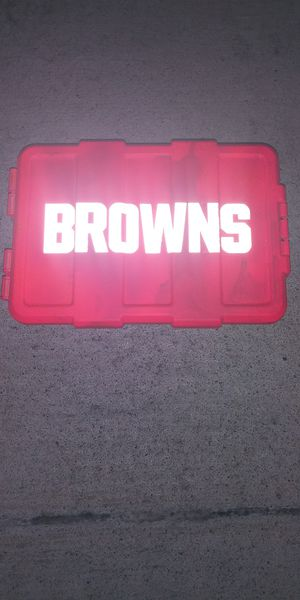 Reflective small storage box for screws,nails, jewelry for Sale in Chardon, OH