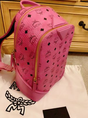 new MCM women backpack pink for Sale in Orlando, FL