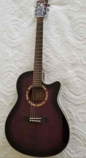 Ibanez AEF 18 TVOP-03 Acoustic-Electric Guitar dark violet for Sale in Woodbridge, VA