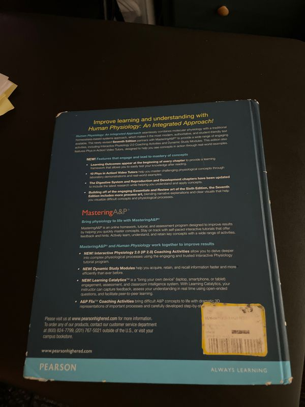 Human Physiology Book