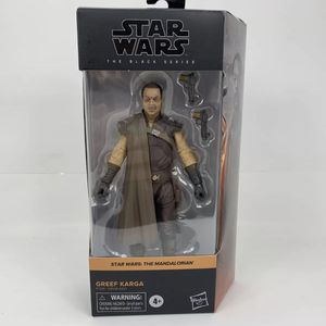 """NEW IN HAND Hasbro Star Wars The Black Series 6"""" GREEF KARGA The Mandalorian #06 for Sale in Peoria, IL"""