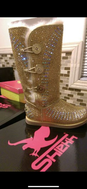 Boots size 7 1/2 will fit size 8 too for Sale in Downey, CA