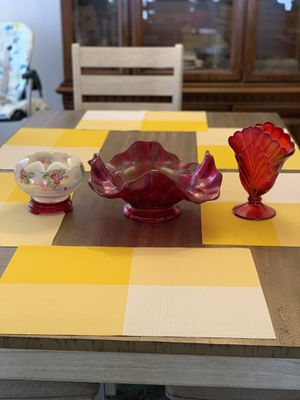 Fenton Hand Glass Blown, Hand Painted Collection for Sale in Carrollton, TX