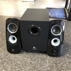 Logitech Z323 S-00075A 30 Watt 2.1 Ch Multi-Media Speakers 10012771-1 for Sale in Tampa, FL