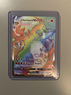 Pokémon Charizard Vmax Rainbow for Sale in Schaumburg, IL