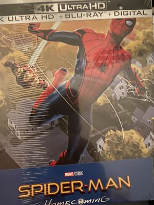 Spider-Man Homecoming 4k Steelbook (Soldout) for Sale in Dallas, TX