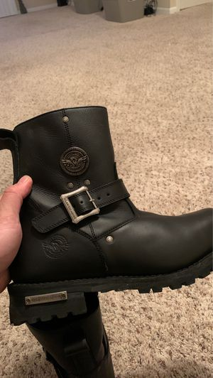 Milwaukee leather boots size 11 for Sale in Cleveland, OH