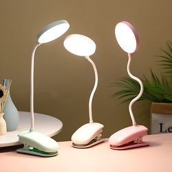 Brand New 18 LED Reading Light Clip-on Clamp Bed Table Desk Lamp Touch Sensor Rechargeable for Sale in Montebello,  CA