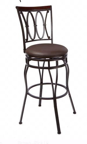 Two Bar stool in good condition. Adjustable Height, $20 each for Sale in Herndon, VA