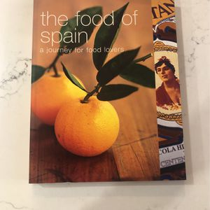 The Food Of Spain A Journey For Food Lovers for Sale in Seattle, WA